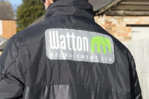 Watton Recruitment logo on football team jackets