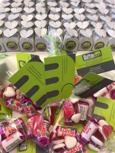 Watton Recruitment's Valentine's Day treats for clients